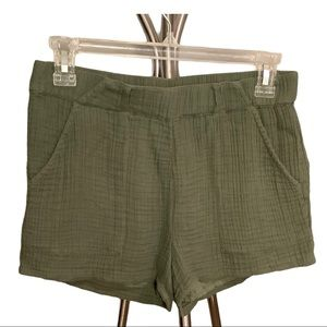 Aerie Gauze Green Short size Small